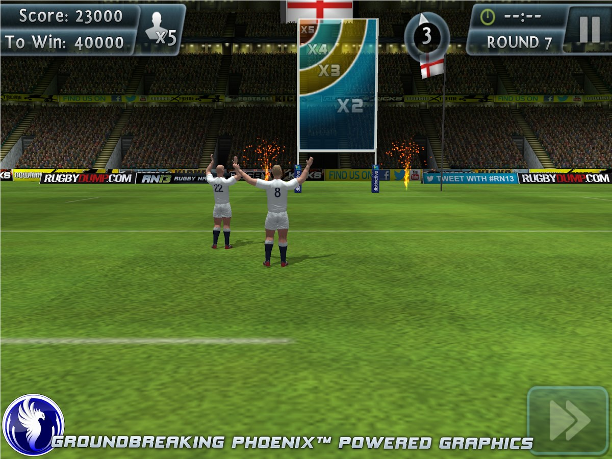 Rugby Kicks 2 - Imagem 1 do software
