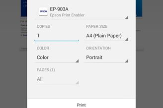 Epson Print Enabler Download para Android Grátis