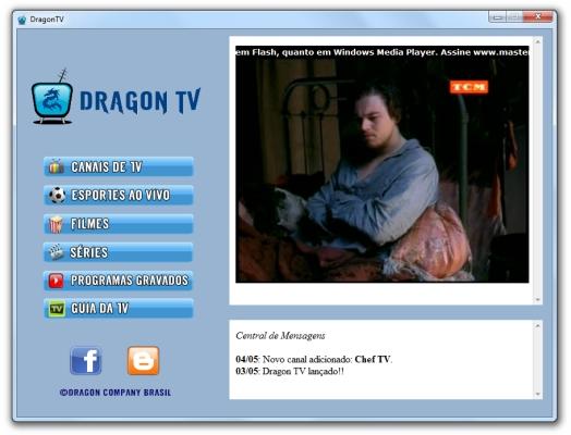 DragonTV - Imagem 1 do software