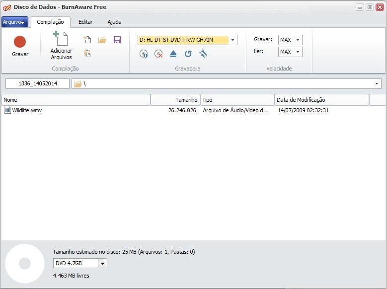 BurnAware Free - Imagem 2 do software
