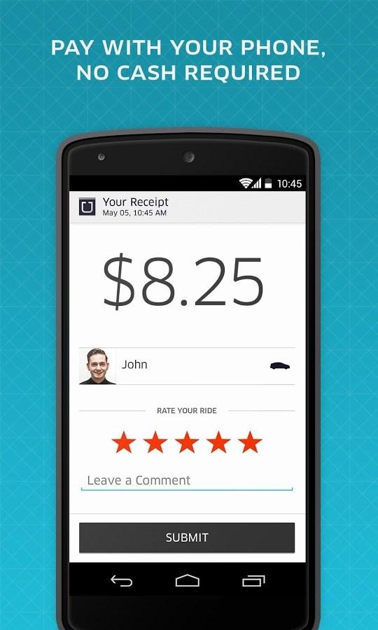 Uber - Imagem 2 do software