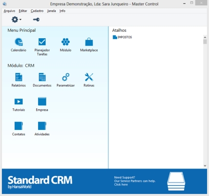 Standard CRM - Imagem 1 do software
