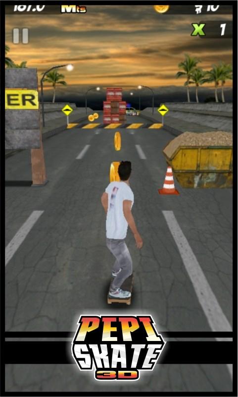 PEPI Skate 3D - Imagem 2 do software