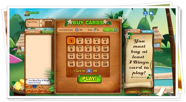 Bingo Island - Imagem 3 do software