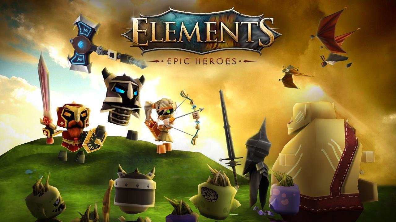Elements: Epic Heroes - Imagem 1 do software