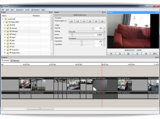 Vidiot - Imagem 1 do software
