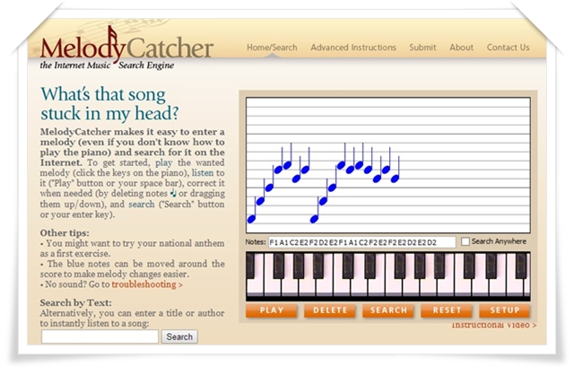 MelodyCatcher - Imagem 1 do software