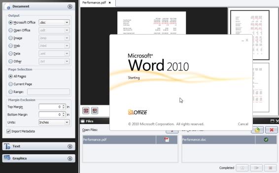 deskUNPDF Converter - Imagem 1 do software