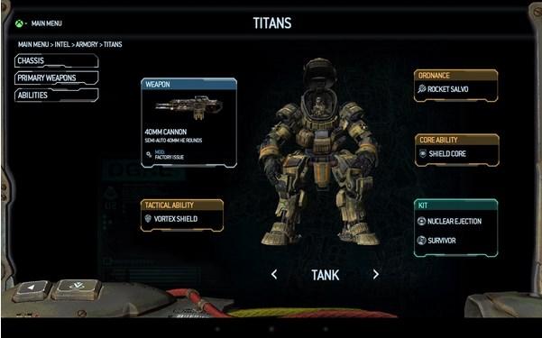 Titanfall Companion App - Imagem 2 do software