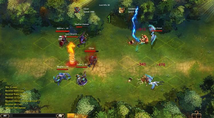 Sentinel Heroes - Imagem 1 do software