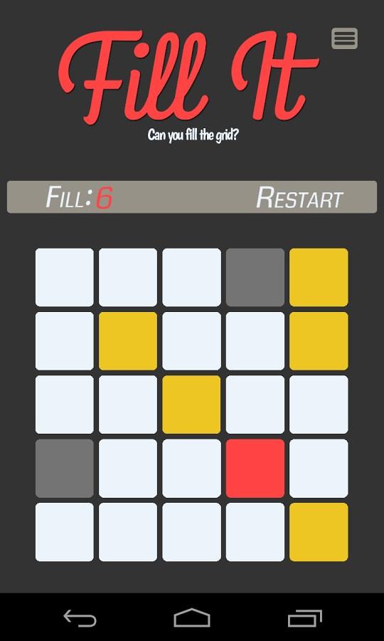 Fill It - Imagem 1 do software