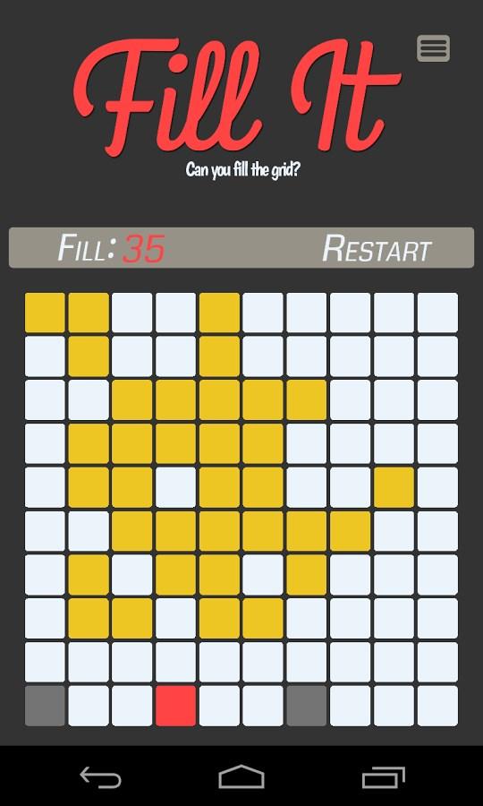 Fill It - Imagem 2 do software