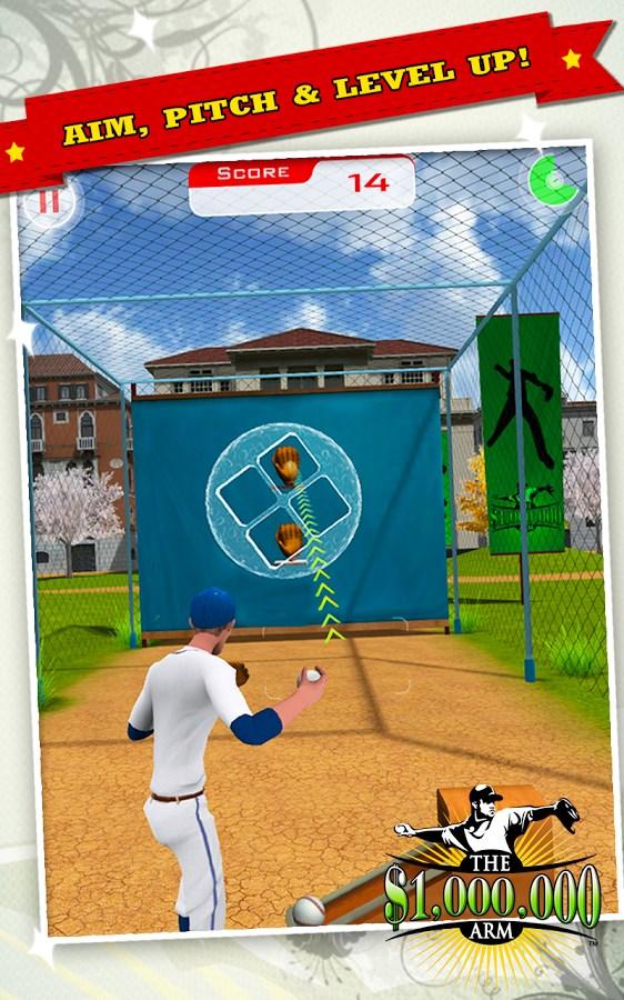 Million Dollar Arm Game - Imagem 1 do software