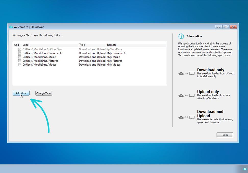 pCloud para Windows - Imagem 1 do software