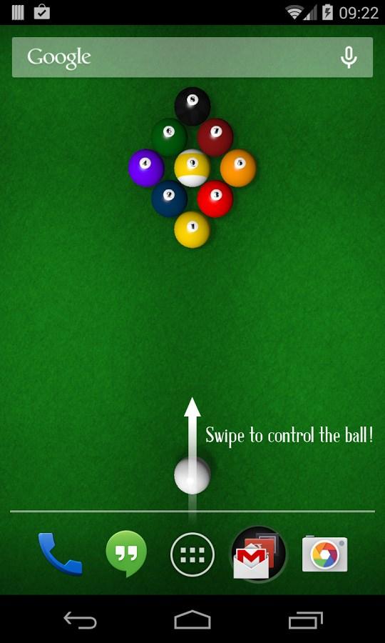 KF Billiards Free Wallpaper - Imagem 1 do software