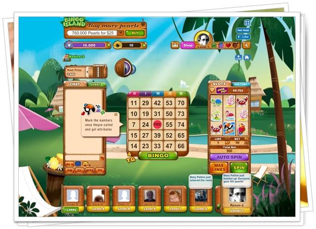 Bingo Island - Imagem 1 do software