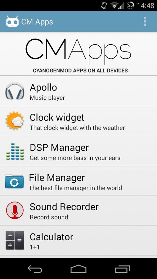 CM Apps - Imagem 1 do software