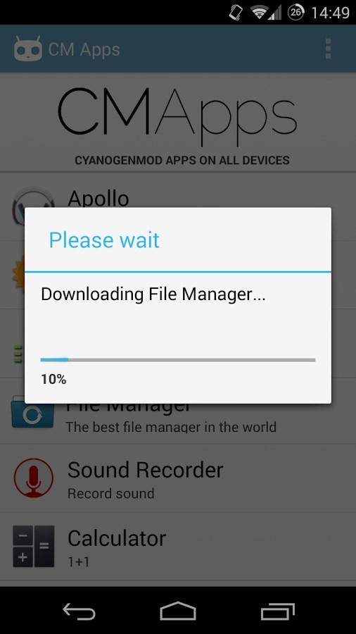 CM Apps - Imagem 2 do software