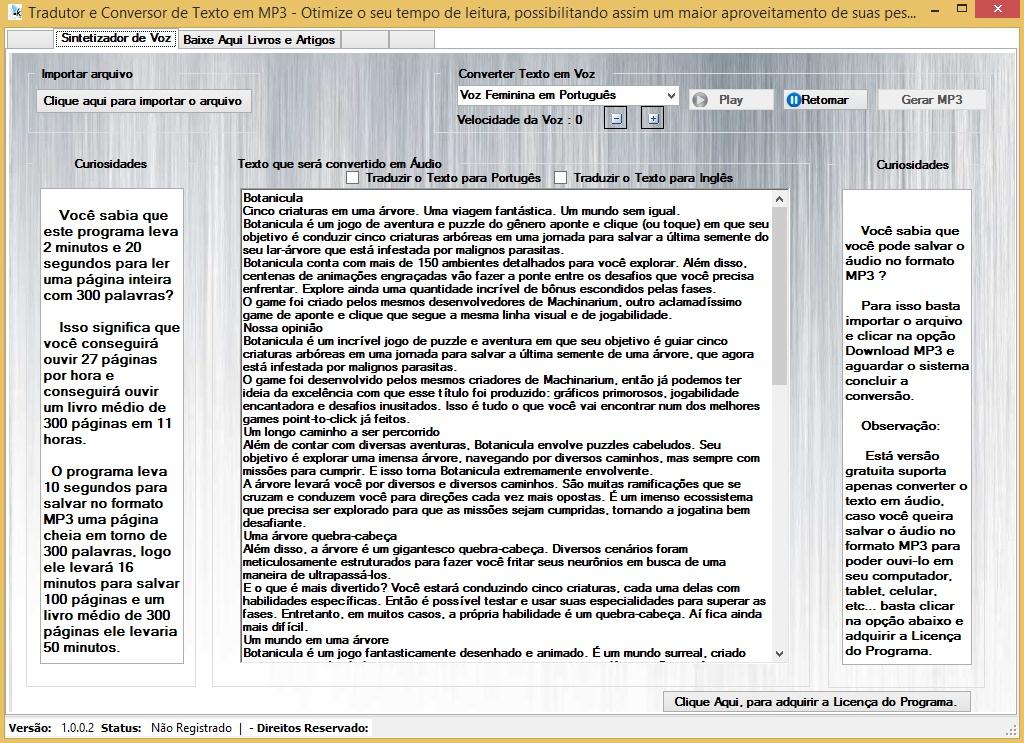 KlésVoice - Imagem 1 do software