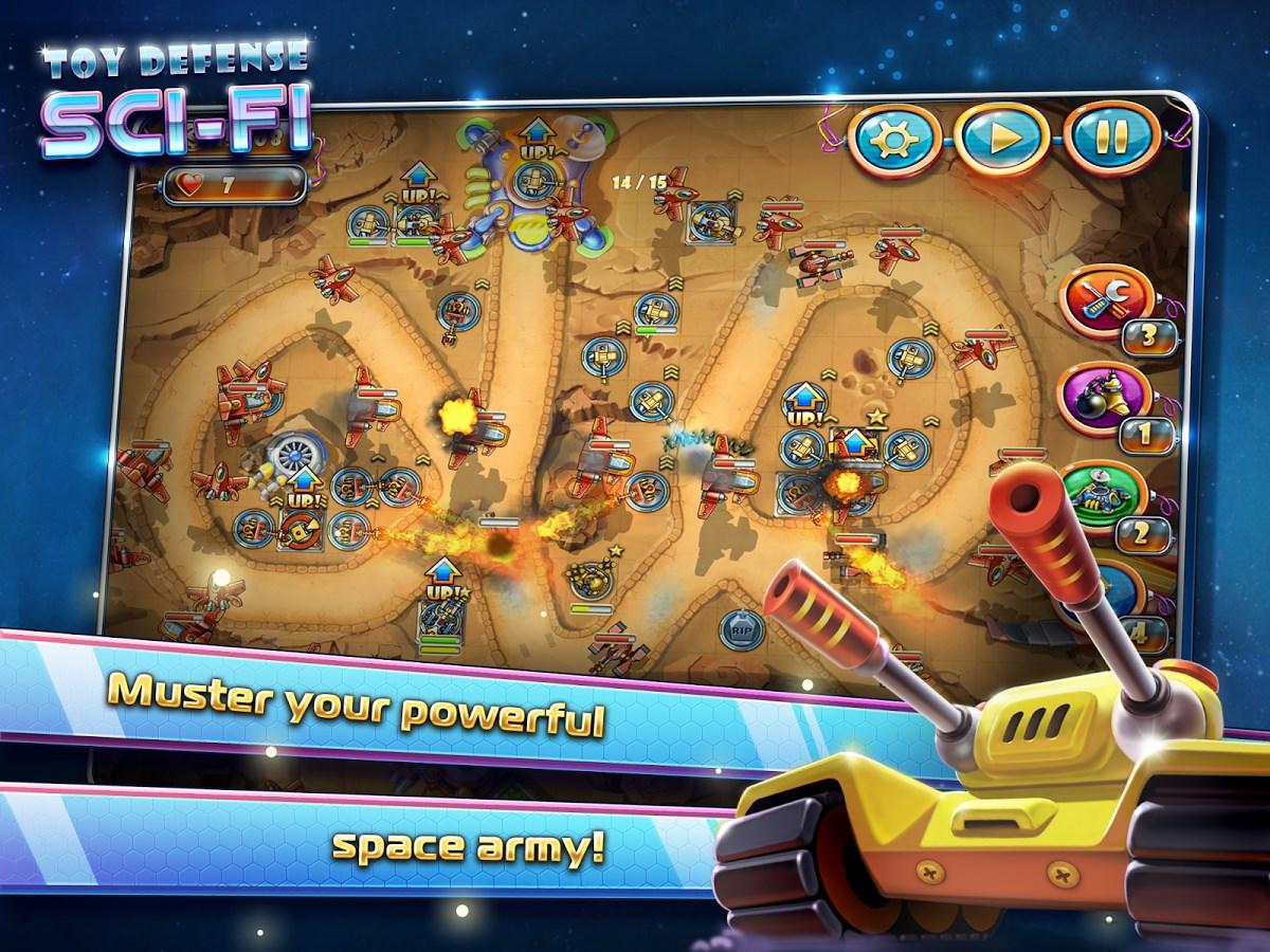 Toy Defense 4: Sci-Fi Free - Imagem 1 do software