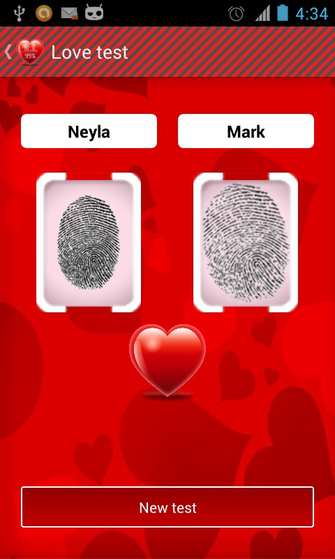 Love calculator - Imagem 1 do software