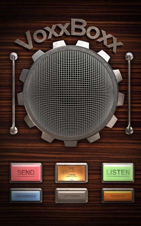 VoxxBoxx - Imagem 1 do software