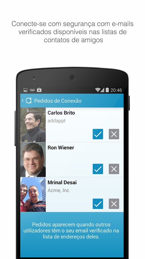 addappt: up-to-date contacts - Imagem 2 do software