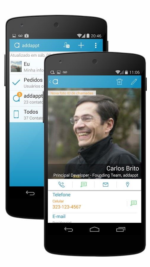 addappt: up-to-date contacts - Imagem 1 do software