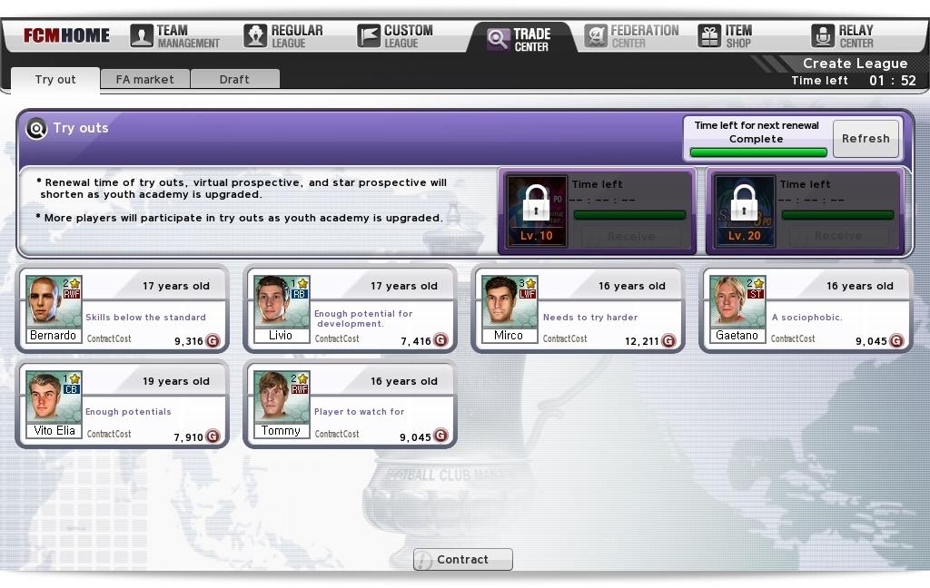 Football Club Manager (FCManager) - Imagem 2 do software