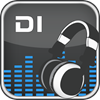 Logo Digitally Imported Radio ícone