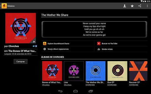 SoundHound - Imagem 2 do software