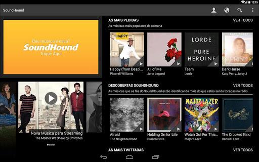 SoundHound - Imagem 1 do software