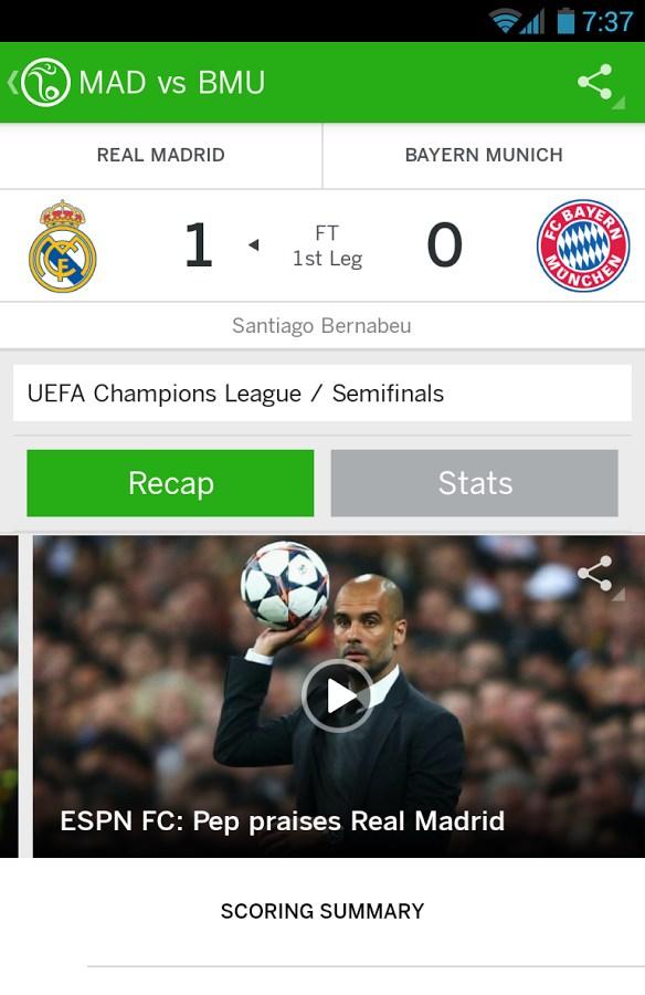 ESPN FC Soccer & World Cup - Imagem 2 do software