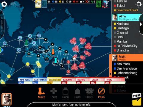 Pandemic: The Board Game - Imagem 1 do software
