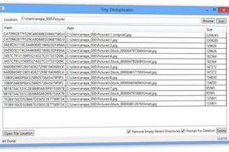 Tiny Deduplicator Download to Windows Grátis