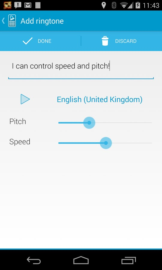 Type Your Ringtone Pro - Imagem 1 do software