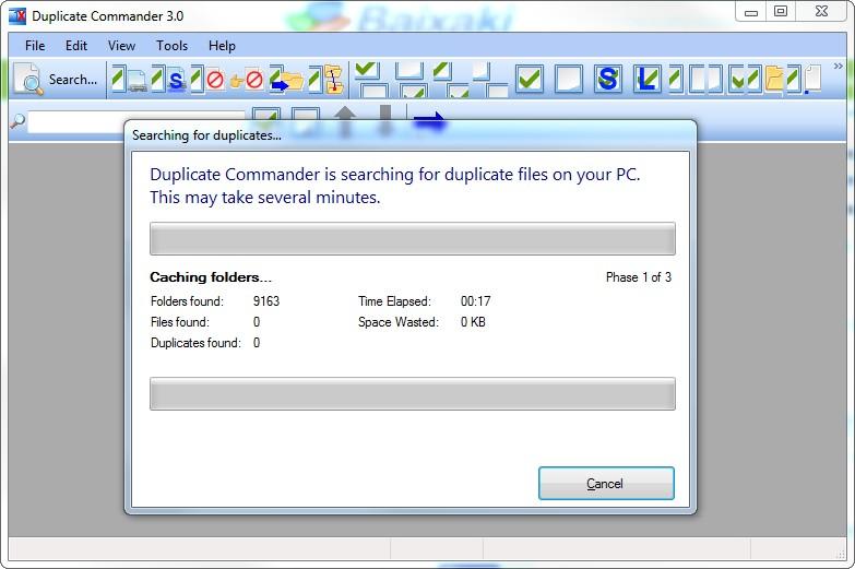 Portable Duplicate Commander - Imagem 2 do software