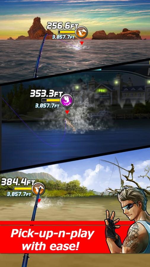 Ace Fishing: Wild Catch - Imagem 1 do software