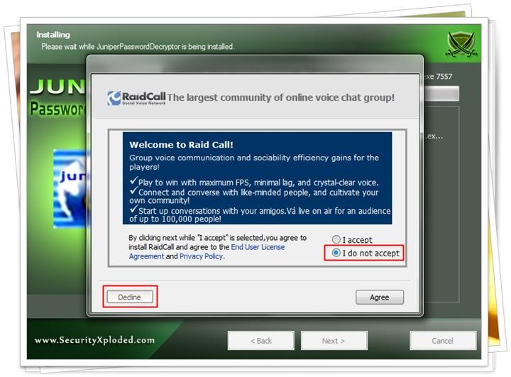 Juniper Password Decryptor - Imagem 2 do software