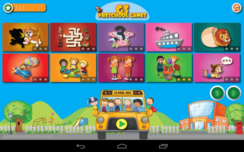 GS Preschool Games - Imagem 1 do software