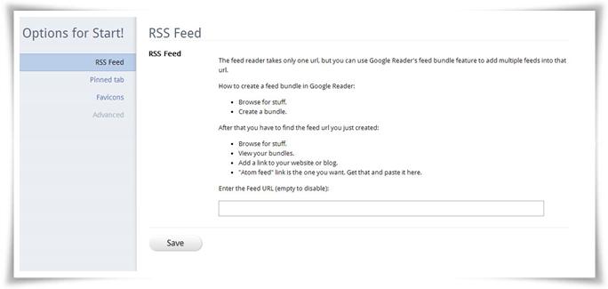 Start! para Chrome - Imagem 3 do software