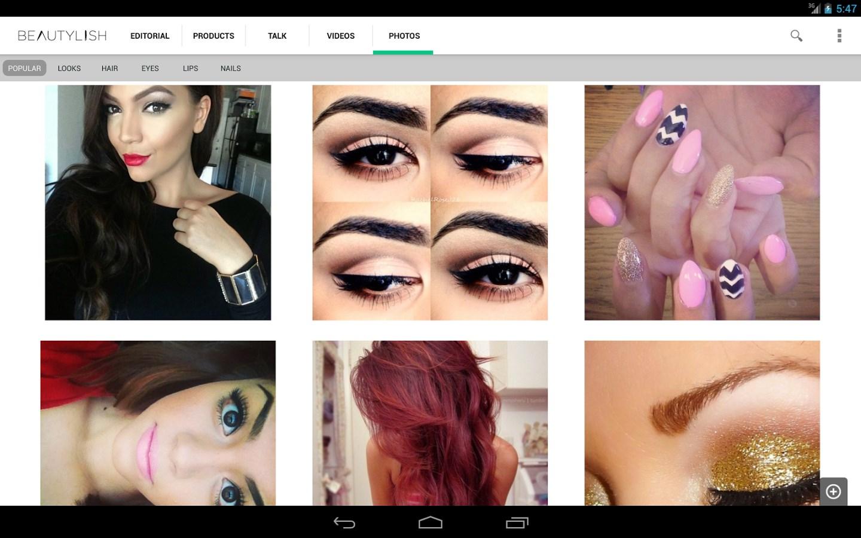 Beautylish: Makeup Beauty Tips - Imagem 1 do software