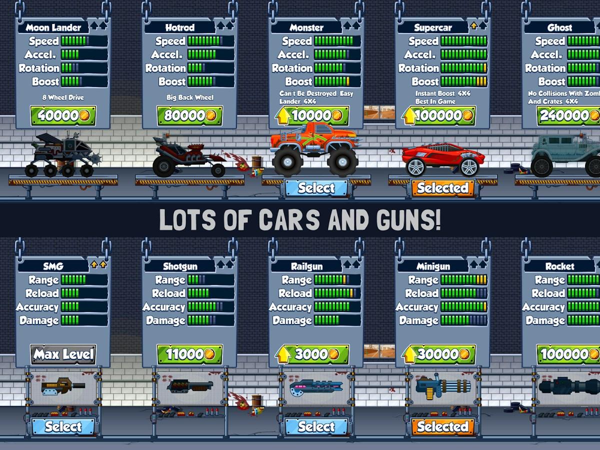 Zombie Road Trip Trials - Imagem 4 do software