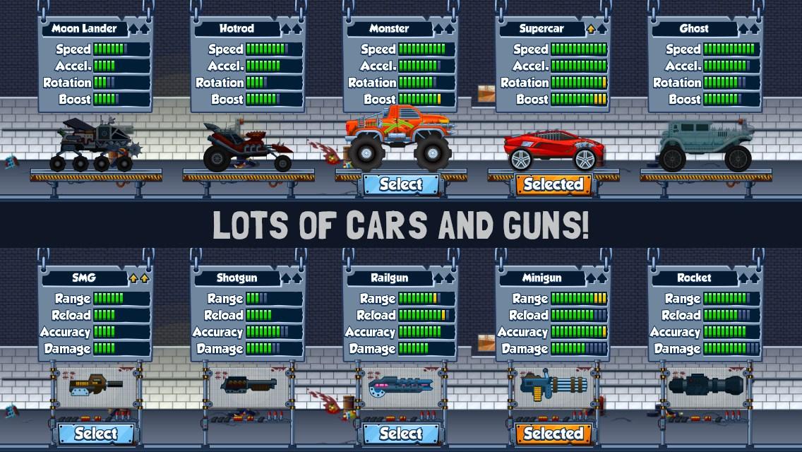 Zombie Road Trip Trials - Imagem 9 do software