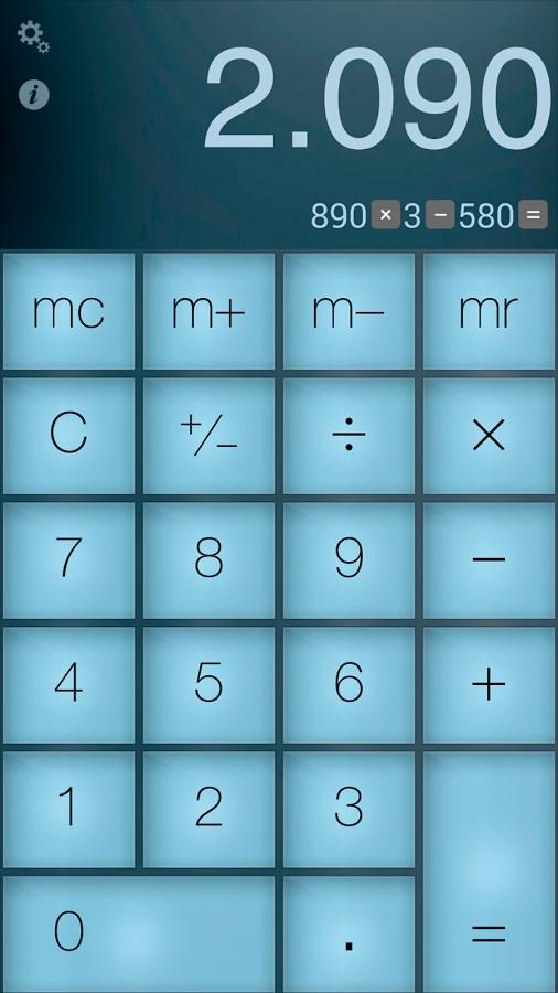 Calculator Pro - Imagem 1 do software