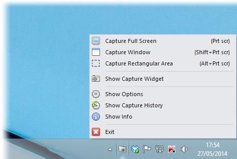 Gadwin PrintScreen - Imagem 2 do software