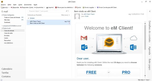 eM Client - Imagem 2 do software