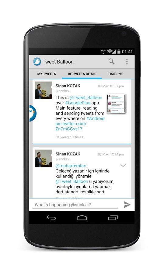Tweet Balloon for Twitter - Imagem 2 do software