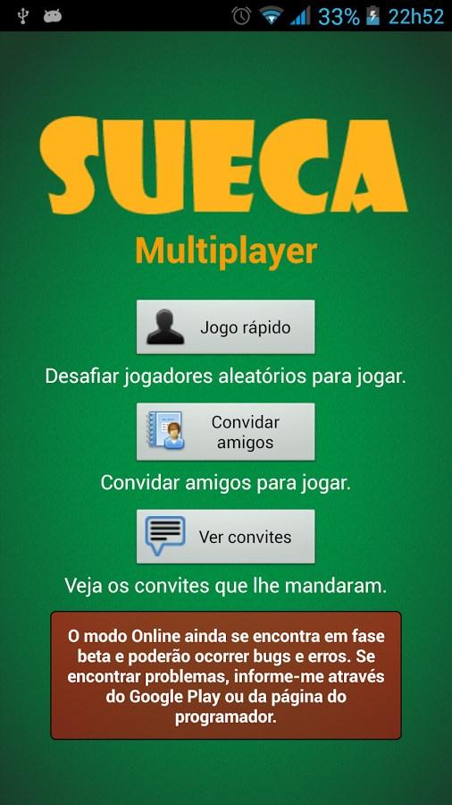 Sueca - Imagem 2 do software