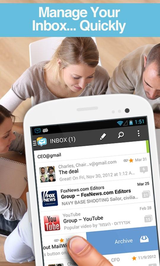 Mail Client for Exchange +more - Imagem 2 do software